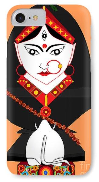 Mahagauri IPhone Case