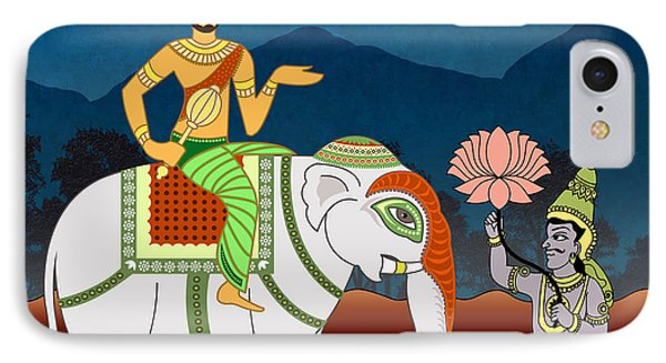 Maharajah's Journey Phone Case by Bedros Awak