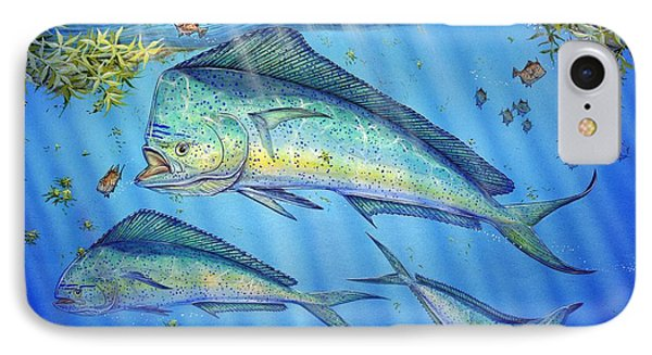 Mahi Mahi In Sargassum IPhone Case