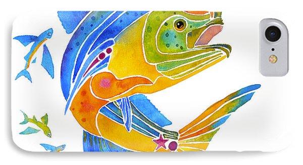 Mahi Saltwater Fish Art Gifts IPhone Case