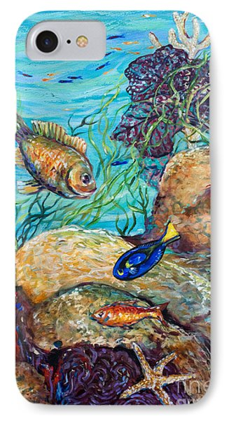 Maho Bay Left IPhone Case by Linda Olsen