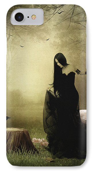 Maiden Of The Forest Phone Case by Sharon Lisa Clarke