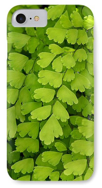 Maidenhair Fern Phone Case by Art Block Collections