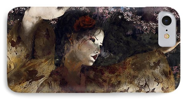 Maiko Dreams IPhone Case by Maynard Ellis