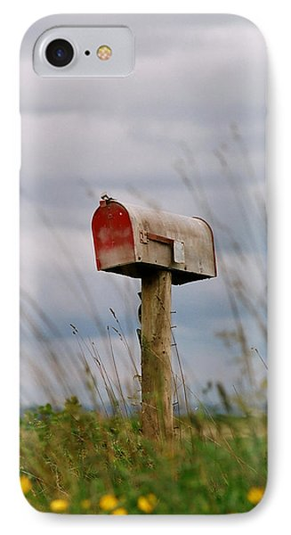 Mailbox IPhone Case by Michele Wright