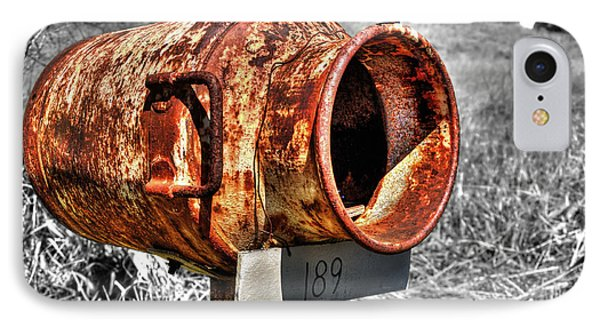 Mailbox With Character Phone Case by Kaye Menner