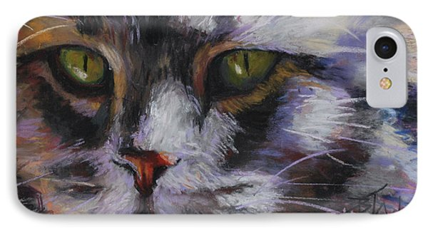 Main Coon IPhone Case by Billie Colson