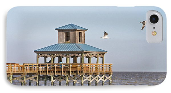 Main Pier At Pleasure Island IPhone Case by D Wallace