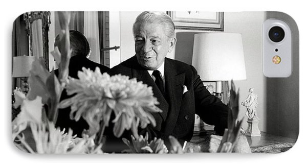 Main Rousseau Bocher In His Living Room IPhone Case by Horst P. Horst