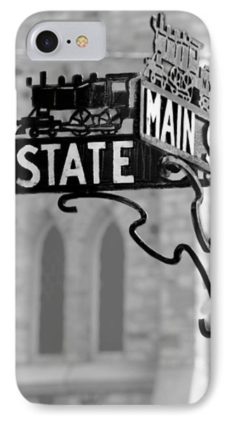 IPhone Case featuring the photograph Main St IIi by Courtney Webster