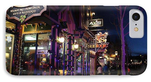 Main Street Breckenridge Colorado IPhone Case
