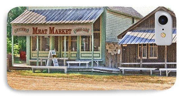 Main Street Meat Market IPhone Case