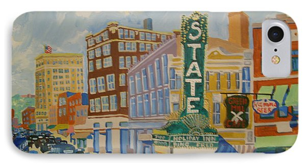 Main Street IPhone Case by Rodger Ellingson