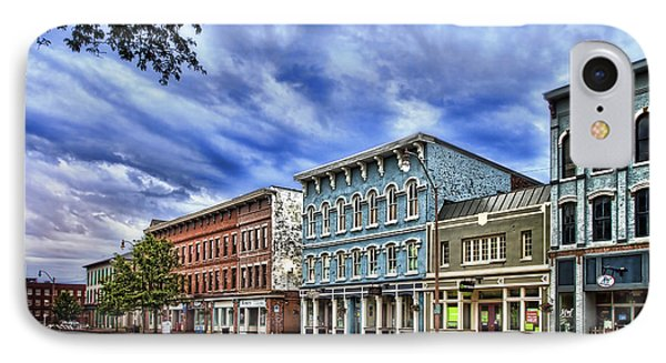 Main Street Usa IPhone Case by Tom Mc Nemar
