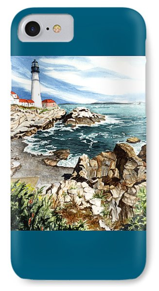 Maine Attraction IPhone Case by Barbara Jewell