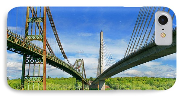 Maine Bridges IPhone Case