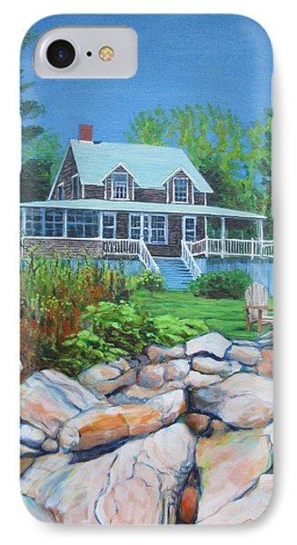 Maine Cottage IPhone Case