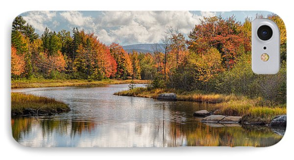 Maine Fall Foliage Photograph - Acadia Bar Harbor Area IPhone Case by Bill Swindaman