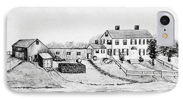 Maine Farm, 1897 IPhone Case by Granger