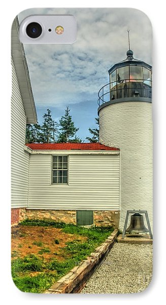 Maine Lighthouse IPhone Case by Raymond Earley