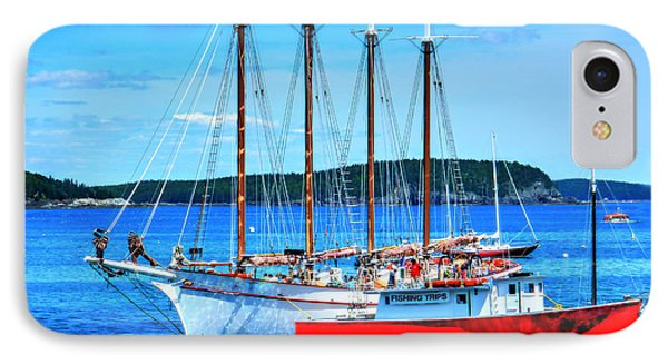 Maine Times IPhone Case by Raymond Earley