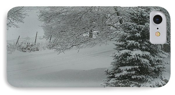 Maine Winter 2014 IPhone Case by Lois Lepisto