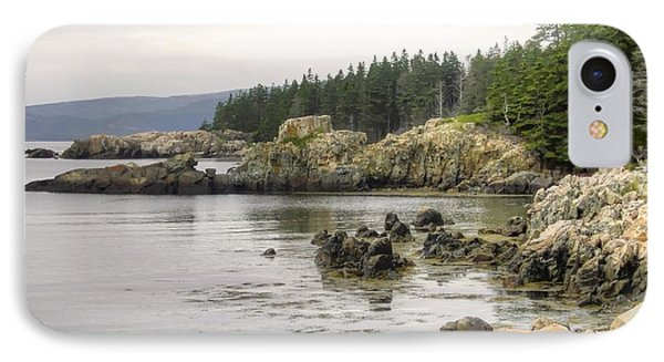 Maine's Beautiful Rocky Shore IPhone Case