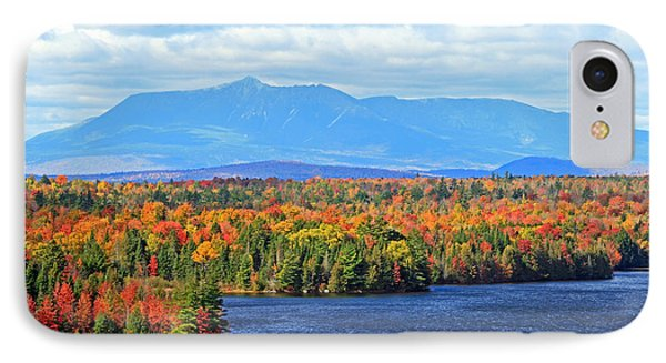 Maine's Mt. Katahdin In Autumn IPhone Case