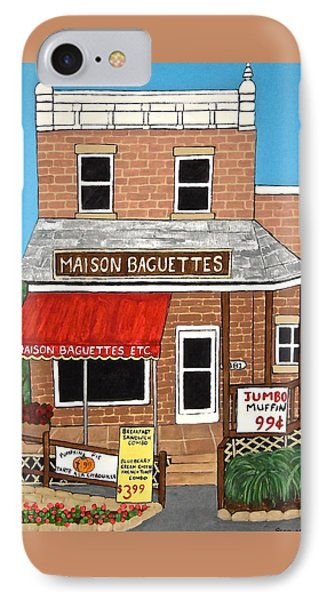Maison Baguettes IPhone Case by Stephanie Moore