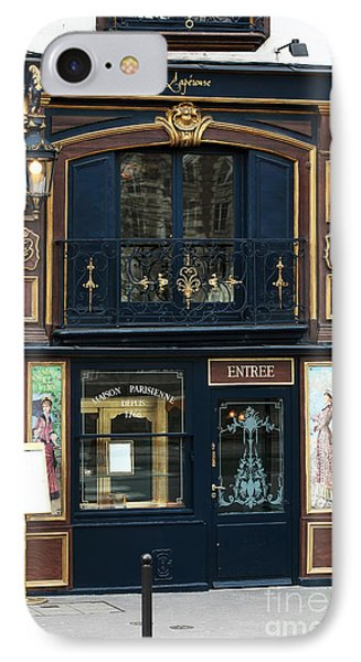 Maison Parisienne Phone Case by John Rizzuto