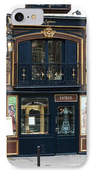 Maison Parisienne IPhone Case by John Rizzuto