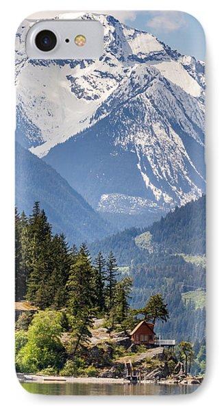 Majestic Anderson Lake Landscape Phone Case by Pierre Leclerc Photography