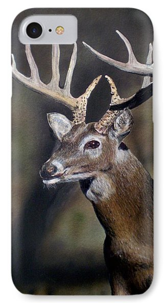 Majestic Buck Phone Case by Todd Spaur