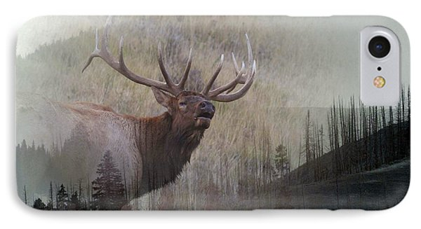 Majestic Elk IPhone Case by Clare VanderVeen