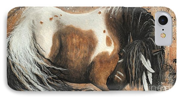 Majestic Horse Series 74 Phone Case by AmyLyn Bihrle