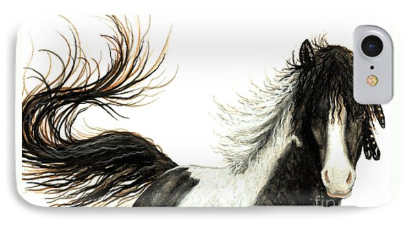 Majestic Horse Series #76 Phone Case by AmyLyn Bihrle