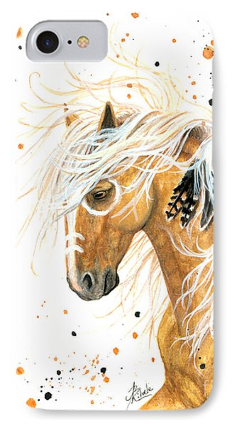 Majestic Palomino Horse 84 IPhone Case