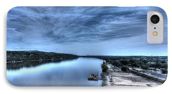 Majestic Hudson River IPhone Case by Rafael Quirindongo
