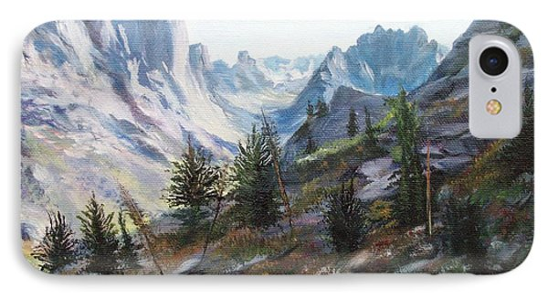 Majestic Montana IPhone Case by Patti Gordon