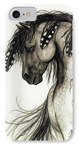 Majestic Mustang Horse Series #51 IPhone Case by AmyLyn Bihrle