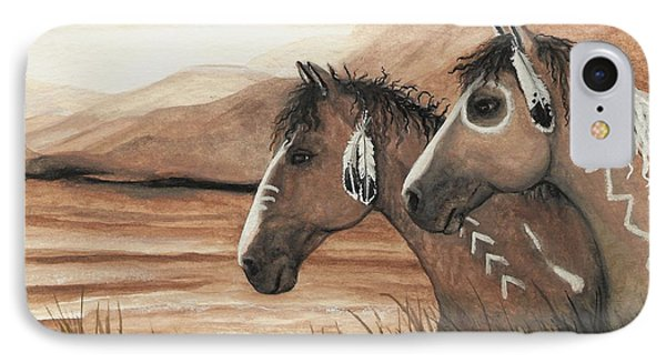 Majestic Mustang Series 42 Phone Case by AmyLyn Bihrle