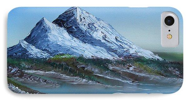 Majestic Peaks IPhone Case by Jennifer Muller