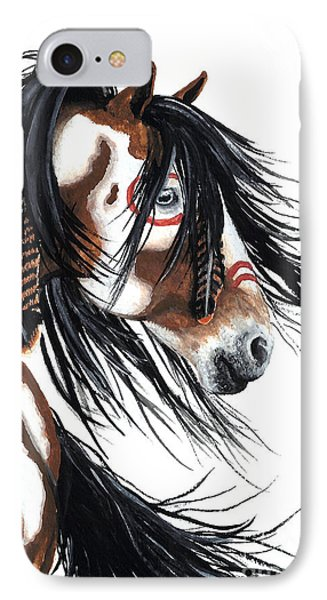 Majestic Pinto Horse IPhone 7 Case by AmyLyn Bihrle