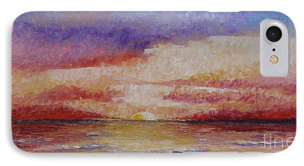 Majestic Sunset  Phone Case by Tatjana Popovska