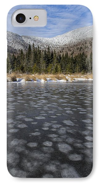 Majestic Frozen Oasis IPhone Case by Andy Gimino
