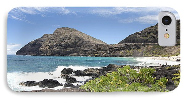 Makapuu Beach Phone Case by Brandon Tabiolo