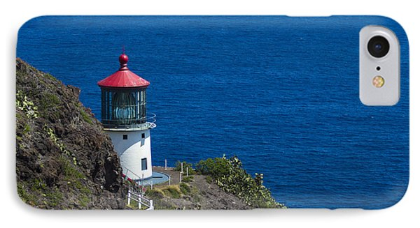IPhone Case featuring the photograph Makapuu Lighthouse 1 by Leigh Anne Meeks