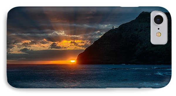Makapuu Sunrise IPhone Case by Dan McManus