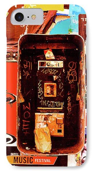 Make A Phone Call Phone Case by Elizabeth Hoskinson