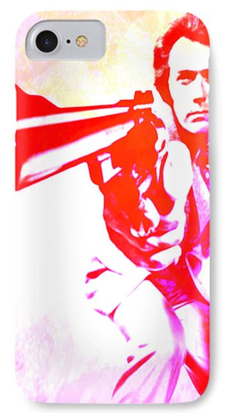 IPhone Case featuring the painting Make My Day by Brian Reaves